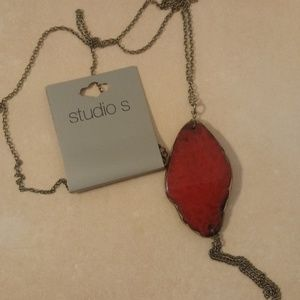 Jewelry - 🆕 Studio S Wire Agate Long Necklace